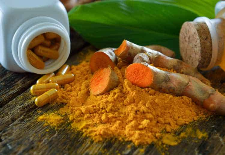 Forms of turmeric supplements